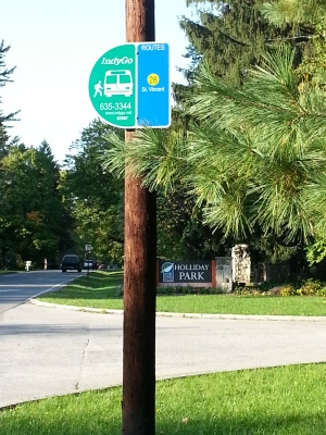 Holliday Park Bus Stop
