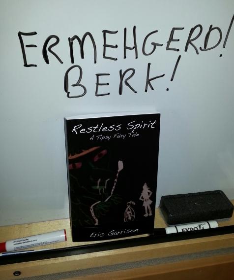 Restless Spirit paperback - ERMEHGERD!