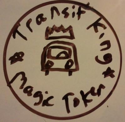 Transit King's Magic Token