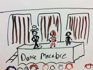 Danse Macabre from Blue Spirit