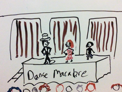 Danse Macabre from Blue Spirit