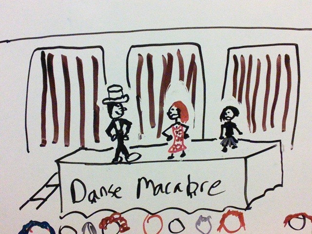 Danse Macabre Stage