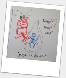 Caught on camera: The Imaginarium Prankster!