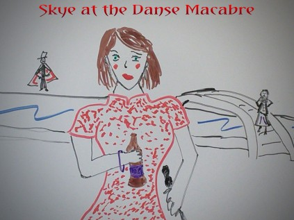 Skye at the Danse Macabre