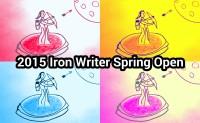 2015 Iron Writer Spring Open