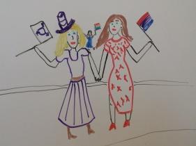 Ida, Minnie, & Skye Pride